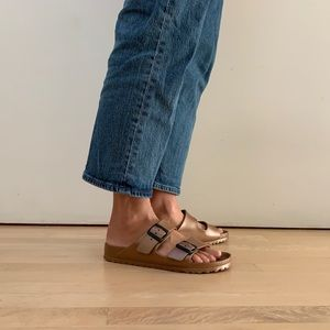 Birkenstock Arizona Essentials Eva rubber copper